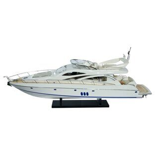 "Модель яхты ""Manhattan Sunseeker 60"", SB0037P"